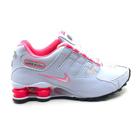 726a1765408 Nike Shox Feminino Tamanho 34 - Tênis Running Rosa no Mercado Livre ...