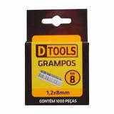 Caixa De Grampo 8mm Para Grampeador Tapeceiro Estofador Sofa