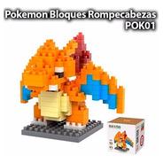 Charizard Pokemon Lego Mini Blocks Rompecabezas Armable