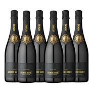 Champagne Jasmine Monet - Black Extra Brut (caja X 6)