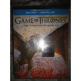 Game Of Thrones Complete Seasons 1-6 Bluray Usa Sellado Orig