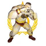 Figura De Acción Zangief Street Fighter Impresión 3d Pla