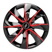 Calota Universal Prime Aro 13 Polegadas Black/red Parafuso