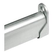Soporte Barral Para Placard 120 Cm Color Aluminio O Blanco