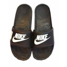 Ojotas Nike Benassi Jdi Unisex Negro Con Blanco
