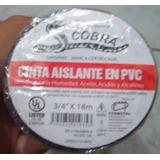 Teipe Negro Cobra Paquetes De 10 Unid. Original Troquelado
