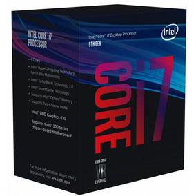 Processador Intel Core I7 8700k Lga 1151 12 Núcleos 3.7ghz