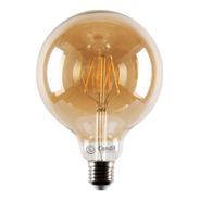 Lámpara Filamento Led Globo Vintage E27 6w Ambar - Candil