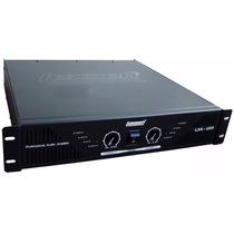 Amplificador Potencia Lexsen Lxa-1201 1200w Crossover 12pago