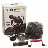 Rode Micro Video Microfone Shotgun Canon Nikon Sony