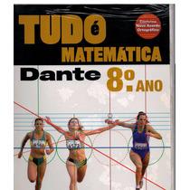 Livro Tudo É Matemática 8º Ano - Dante