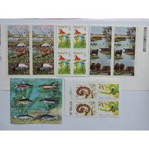 Brasil Fauna Brasileira 5 Conjuntos 26 Selos Novos 1973-91
