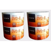 Dvd-r Printable De 50 Discos C/u Sony Optical Medi(4 Torres)