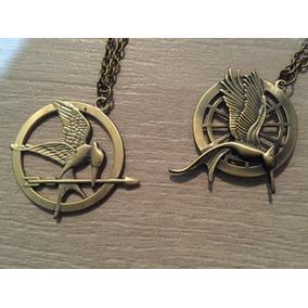 Hunger Games Sinsajo Collar Doble Cara Juegos Del Hambre