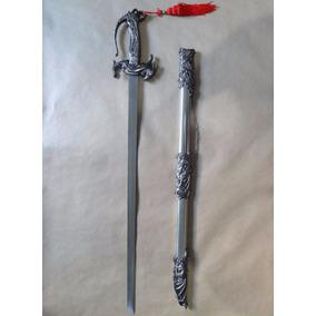 Espada Estilo Game Of Thrones Senhor Dos Anéis Metal E Inox