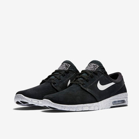 Zapatillas Nike Janoski Max L Cuero Negro Original Nuevas !!