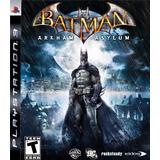 Batman Arkham Asylum Ps3 Digital Entrego Hoy!!!