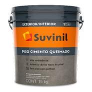 Kit Suvinil Piso Cimento Queimado 15kg + Kit Resina 1,5l