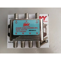 Chave Comutadora 3x4 Sky Sat 174 - 2150 Mhz