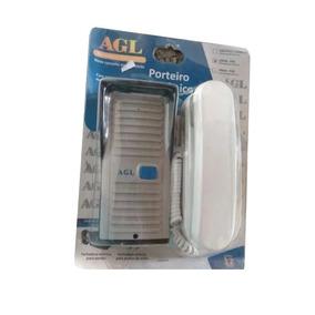 Porteiro Eletrônico ( Interfone) Agl P-10 Branco