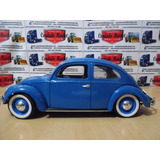 Auto Clasico Volskwagen Beetle Coccinelle 1958