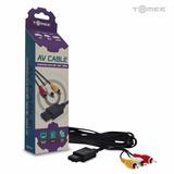 Cable Audio Video Av Super Nintendo Gamecube N64 Snes Tomee