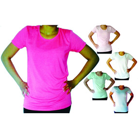 Remeras Modal Lisas 100% Sublimable