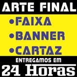 Arte Final - Faixa Banner Cartaz