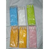Cortina De Baño Tela Impermeable (lavables) Colores Surtidos