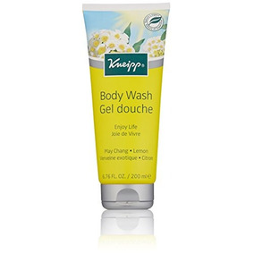 Kneipp Herbal Body Wash Gel Douche, Enjoy Life, May Chang, 6