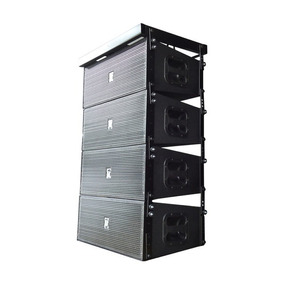 Line Array Eco Som La108 Ativa Biamplificada Processada