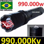 Lanterna Tática+ Taser Choque Ultrapotente Police 299.000 Kv