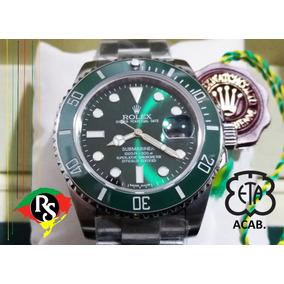273fab43442bf Rolex Gmt Bezel Ceramica Ponteiro Verde Automatico De Luxo Masculino ...