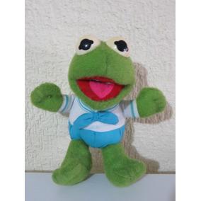 Peluche Rana Rene Kermit Muppet Babies 20cm