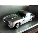 1963 Aston Martin Db5 Bond Silver Escala 1/18 Chrono