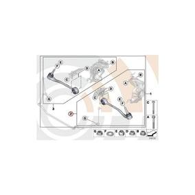 Brazo De Control Original De Bmw Kit De Reparación De La Izq
