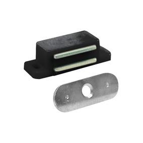 Fecho Magnetico Para Armario 1 Peça Preto - Bemfixa