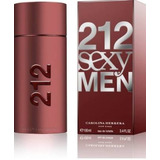 212 Sexy Men Carolina Herrera Eau De Toillette Envío Gratis