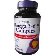 Omega 3 6 9 Americano 90 Capsulas  Natrol