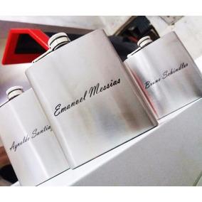 Cantil De Inox 240ml - Personalizado