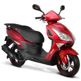 Moto Italika Gs150 Led Roja