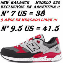 New Balance 530 (574) N° 38, 41.5 Gris 9 Años En Merc Libre