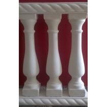 Columnas Balaustres De 70 Cm A $50 Y Barandas De Cemento