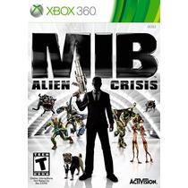 Mib Alien Crisis Xbox 360 Mídia Física Lacrado