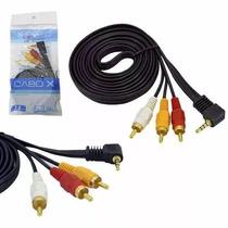 Cabo Adaptador P2 X 3rca Celular Tv Dvd Audio Video 1,5 Mts
