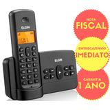 Telefone Sem Fio Elgin 800 Se Secretaria Eletronica Bina Top