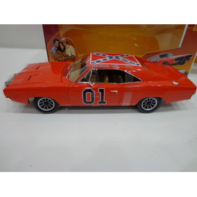Dodge Charger Dukes Of Hazzard General Lee 1/18 Auto World