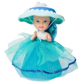 06x Coleção Completa Estrela Boneca Cupcake Luz Super Preço