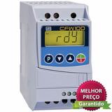 Inversor Frequência Weg Cfw100 1cv 220v Entrada Monofásico