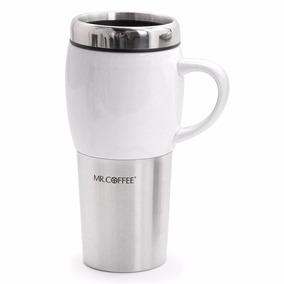 Taza De Viaje Mr. Coffee Cerámica Mod. Traverse